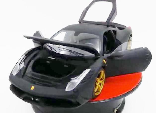 フェラーリ ミニカー■HotWheelsエリート■フェラーリ 458 SPECIALE  黒 【プレミアムエリート】ホットウィール hotwheels【予約商品】