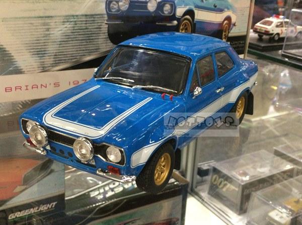 1/18 GreenLight☆ワイルドスピード  1970 Ford Escort RS2000 Mk1 青/白 【予約商品】