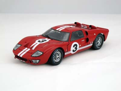 1/18 SHELBY COLLECTIBLES☆1966 フォード GT40 MK2 #3 赤 特別限定モデル!【予約商品】