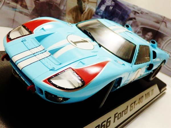 1/18 SHELBY COLLECTIBLES☆1966 フォード GT40 MK2 水色 特別限定モデル!【予約商品】