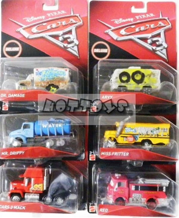 ◎ディズニーカーズ / 1/55 クロスロード 卸売りBOX 3 (オーバーサイズ 6台セット)♪ マテルカーズ カーズ おもちゃ カーズ ミニカー