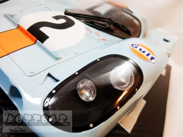 巨大!1/12 TRUE SCALE MINIATURES☆ポルシェ 917K #2 ガルフ GULF  300台限定品【予約商品】