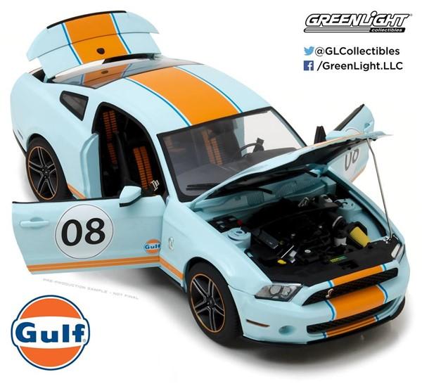 1/18 GREENLIGHT☆2012 フォード・マスタング シェルビー GT500 ガルフ GULF 【予約商品】