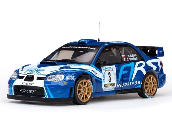 1/18 SUNSTAR☆2012 スバル インプレッサ WRC07 #3 999台限定品 【予約商品】