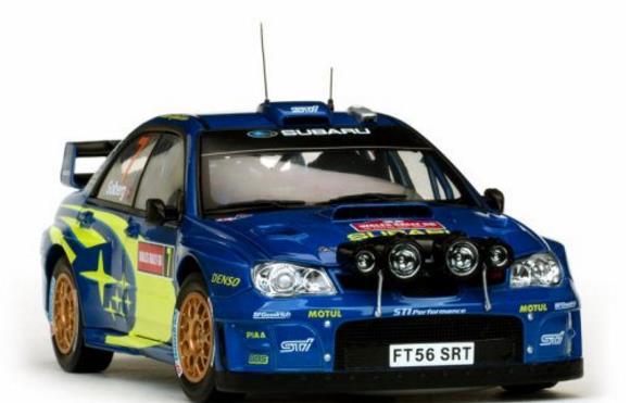 1/18 SUNSTAR☆2012 スバル インプレッサ WRC07 #7 999台限定品 【予約商品】