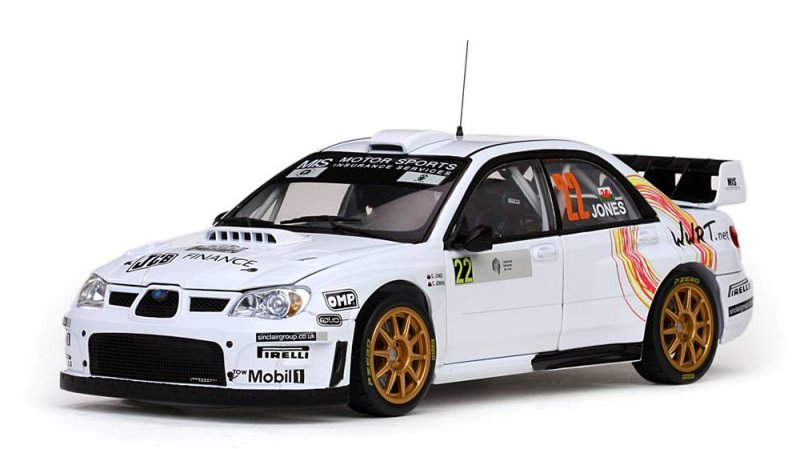 1/18 SUNSTAR☆2008 スバル インプレッサ WRC07 #22 G. JONES / C. JENKINS TOUR DE CORSE RALLY DE FRANCE 2008 【予約商品】