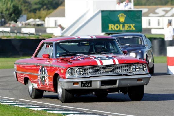 1/18 サンスター■1963 フォード・ギャラクシー500 XL RACING  #15 B. WILLIAMS/ M. STEELE - GOODWOOD REVIVAL 2011 - ST. MARY'S TROPHY RACE 【予約商品】
