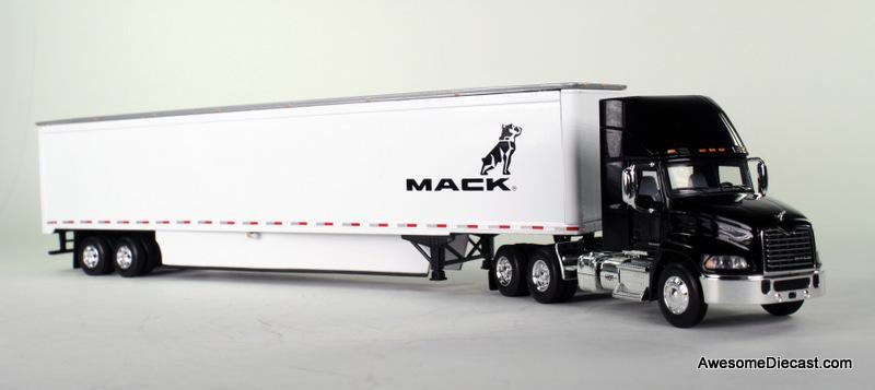 ミニカー 1/64 FiestGear☆53 トレーラー 「MACK」 トレーラートラック 【予約商品】