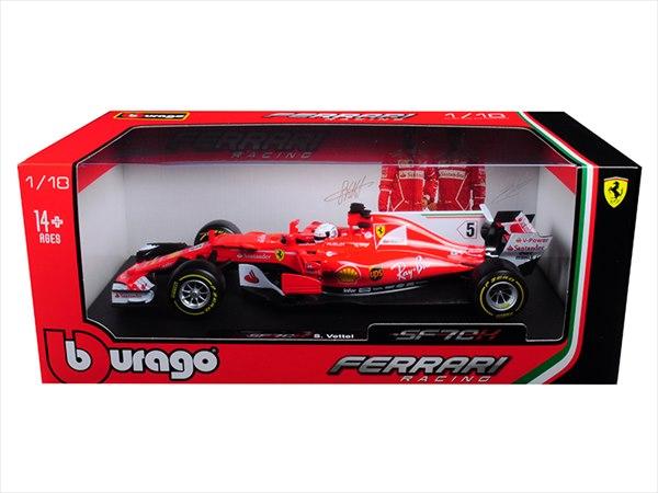 ミニカー■ブラゴ■1/18 フェラーリ F1 SF70H S. Vettel フェラーリ ベッテル 【予約商品】