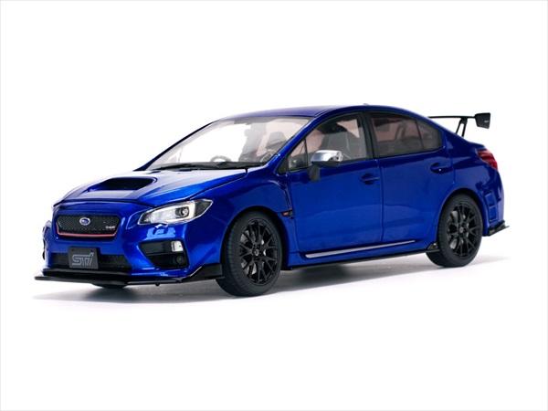 ミニカー 1/18 SUNSTAR☆2015 スバル WRX Sti S207 NBR チャレンジパッケージ ブルー 【予約商品】