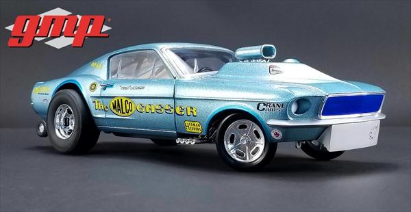 ミニカー 1/18 GMP☆1967 シェルビー Ohio George's 1967 Malco Gasser with Airplow Front Spoiler 900台特別限定モデル! フォード・マスタング エレノア 60セカンズ 【予約商品】
