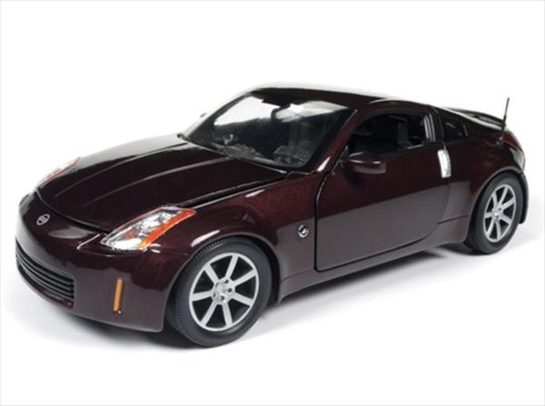 1/18 ミニカー AUTOWORLD☆2003 フェアレディZ 350Z バーガンディ色 【予約商品】