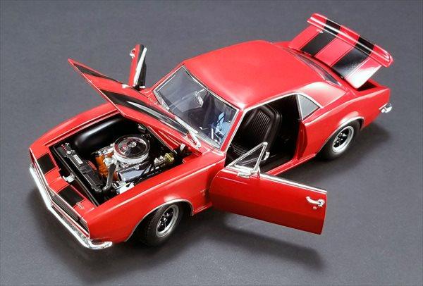 ミニカー 1/18 ACME☆1967 シボレー・カマロ 427 赤色 【予約商品】