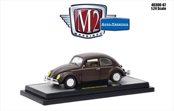 1:24 M2 Machines *MOONEYES* 1952 VW Volkswagen Beetle Bug *NIB*