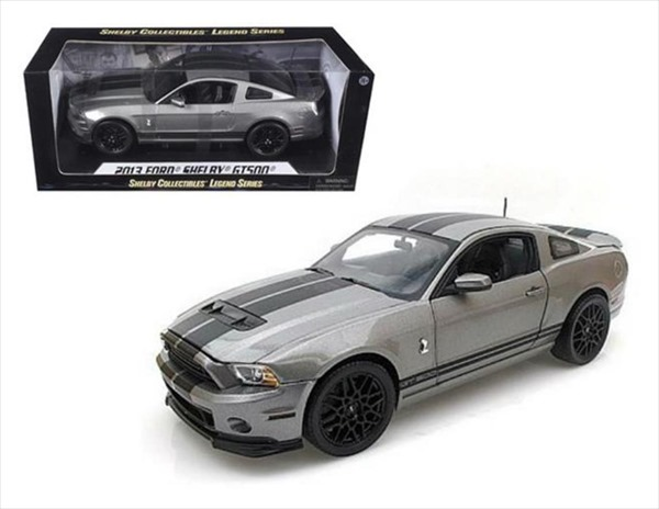 1/18 SHELBY COLLECTIBLES☆2013 シェルビー GT500 エレノア 銀/黒【限定モデル】【予約商品】