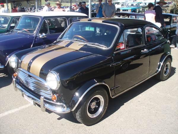 ミニカー 1/43 ミニクーパー Buckle Motors仕様 黒色  限定品 予約商品