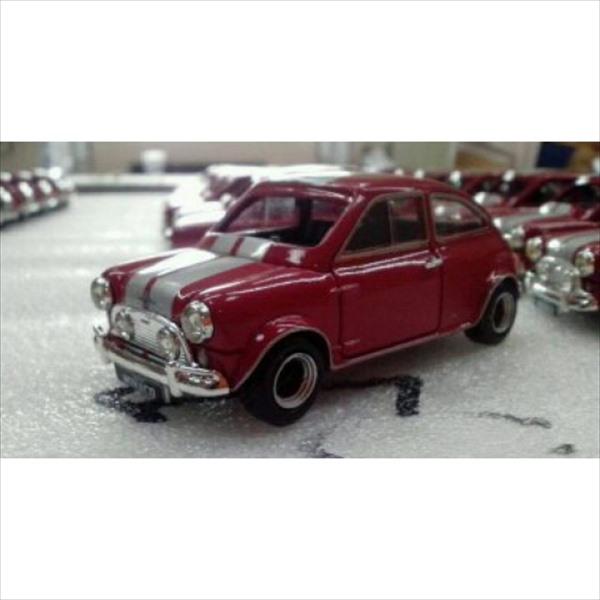 ミニカー 1/43 ミニクーパー Buckle Motors仕様 赤色  限定品 予約商品