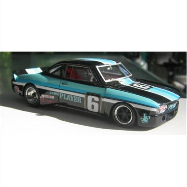 ミニカー 1/43 1966 シボレー コルベア JOHN PLAYER CORVAIR レース仕様 水色/黒 限定予約商品