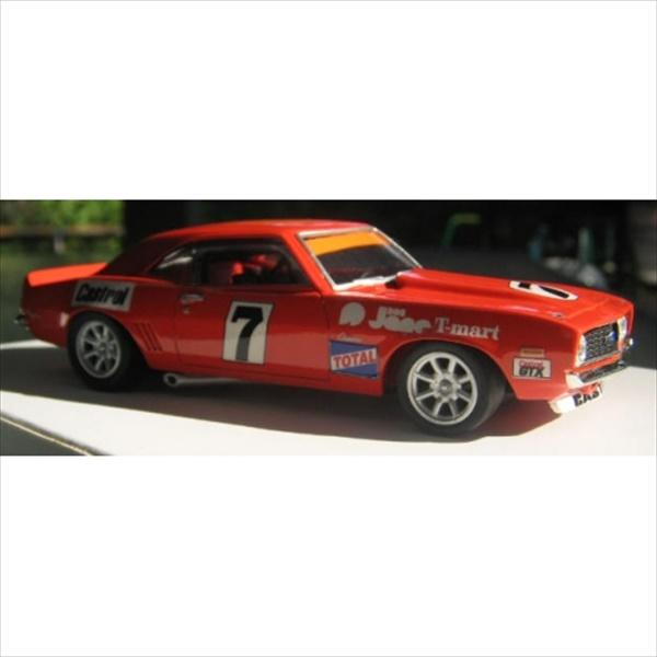 ミニカー 1/43 1970 シボレー カマロ #7 レース仕様 赤 限定予約商品