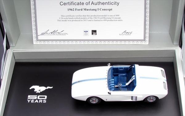 ミニカー 1/24 1962 マスタング I コンセプト 超精密モデル【限定予約商品】