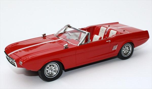 ミニカー 1/24 1963 マスタング II コンセプト 赤 超精密モデル【限定予約商品】