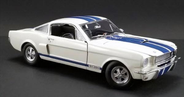 ミニカー 1/18 ACME 1966 シェルビー GT-350 スー-パーチャージャー 白/青ライン マスタング エレノア 限定予約商品