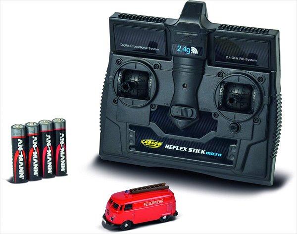 超精密ラジコン 1/87 WIKING ラジコン ワーゲンバス 消防車 赤   予約商品
