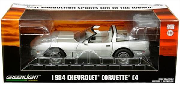 全日本送料無料 ミニカー 1/18 GreenLight☆1985 Car World」 【予約商品】 シボレー・コルベット C4 銀色 Production 「Best Production Sports Car In The World」 【予約商品】, コレクト&コレクト:bc333421 --- lebronjamesshoes.com.co