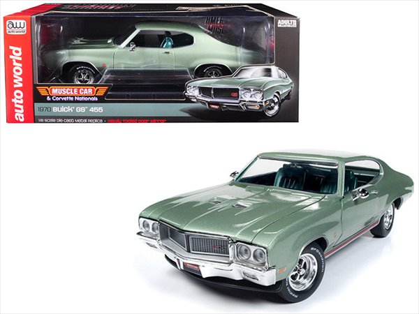 ミニカー 1/18 AUTOWORLD☆1970 Buick GS 455