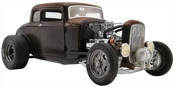 ミニカー 1/18 ACME★アメリカングラフィティー  1932年 デュースクーペ Porkchop's Chop Shop 1932 Ford 190 Proof【予約商品限定品/絶版】!