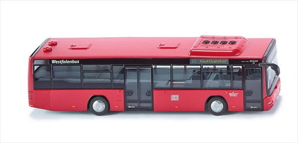 超精密ラジコン 1/87 WIKING ラジコン バス ドイツ路線バス   予約商品