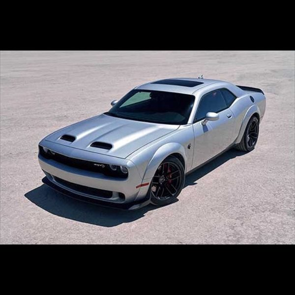 1/18 GT SPIRIT☆2015 ダッジ・チャレンジャー 銀色 SRT Dodge Challenger SRT Hellcat Redeye Triple Nickel仕様♪ 特別限定モデル!【予約商品】
