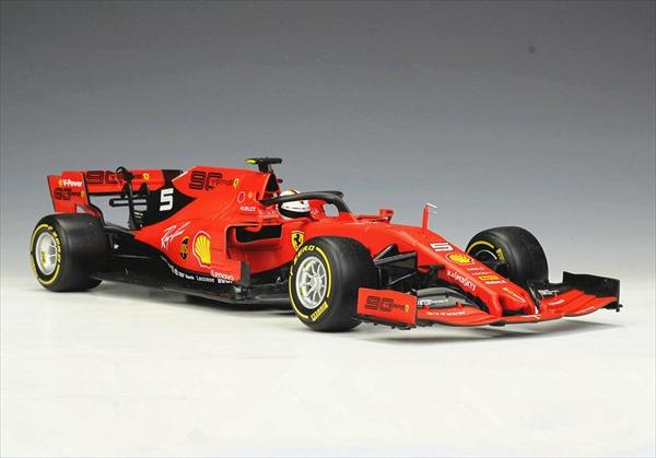 ミニカー■ブラゴ■1/18 フェラーリ F1 2019 Bburago Ferrari F1 SF90 #5 Sebastian Vettel フェラーリ ベッテル 【予約商品】