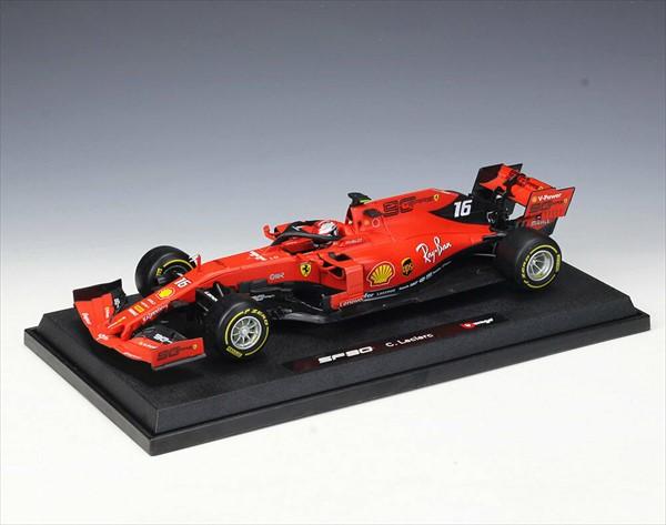 ミニカー■ブラゴ■1/18 フェラーリ F1 2019 Bburago Ferrari F1 SF90 #16 Charles Leclerc フェラーリ 【予約商品】