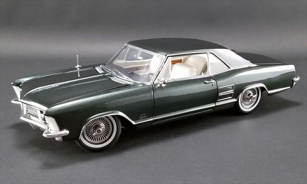 1/18 ACME☆1963 ビュイック・リビエラ 濃緑 1963 Buick Riviera  特別限定モデル!【予約商品】