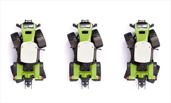 超精密ラジコン1/32SikuラジコンハイテクトラクターXerion5000緑レベラー付き!予約商品