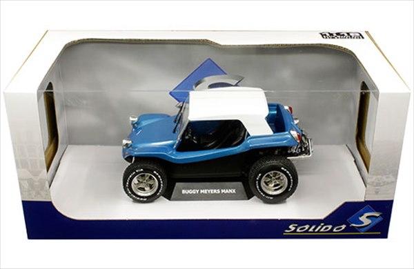 ミニカー Solido ☆1/18 デューン・バギー ワーゲンバギー 青 Meyers Manx Buggy Convertible