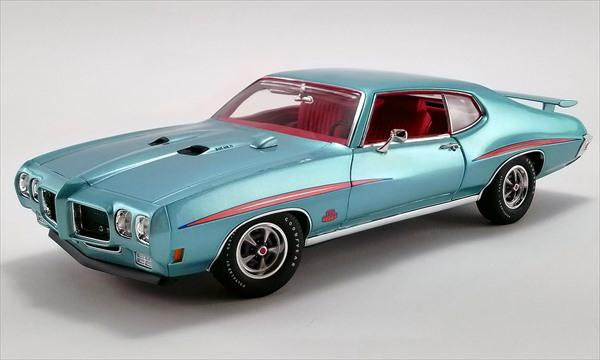 ミニカー 1/18 ACME☆1970 ポンティアック Pontiac GTO The Judge ライトブルーメタ【588台限定予約商品】