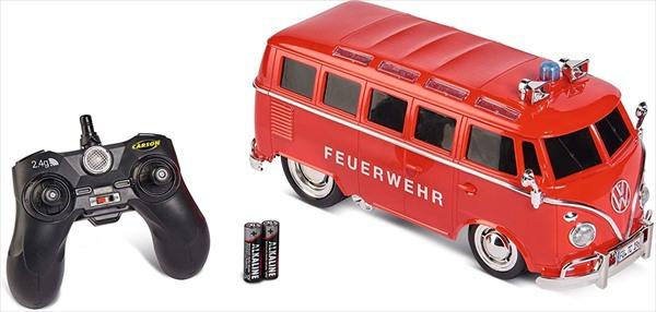 ラジコン 1/14 CARSON ワーゲンバス 消防車  予約商品