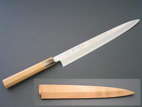 如疾風 (はやてのごとし) 柳刃 270mm(白サヤ付き)