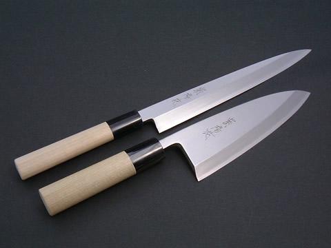 紫陽花 (あじさい) 柳刃 出刃 2本セット