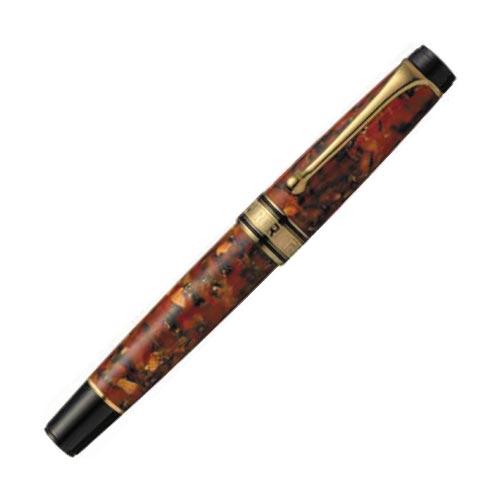 Aurora Optima 365 Brown Fountain Pen 996-LM