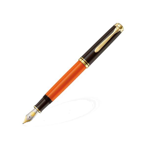 ペリカン PELIKAN スーベレーン 万年筆 M800 バーントオレンジ