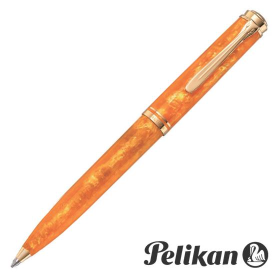 ペリカン Pelikan ボールペン スーベレーン K600 ヴァイブラントオレンジ