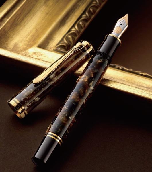 PELIKAN perikansuberenrunessansuburaun钢笔M800