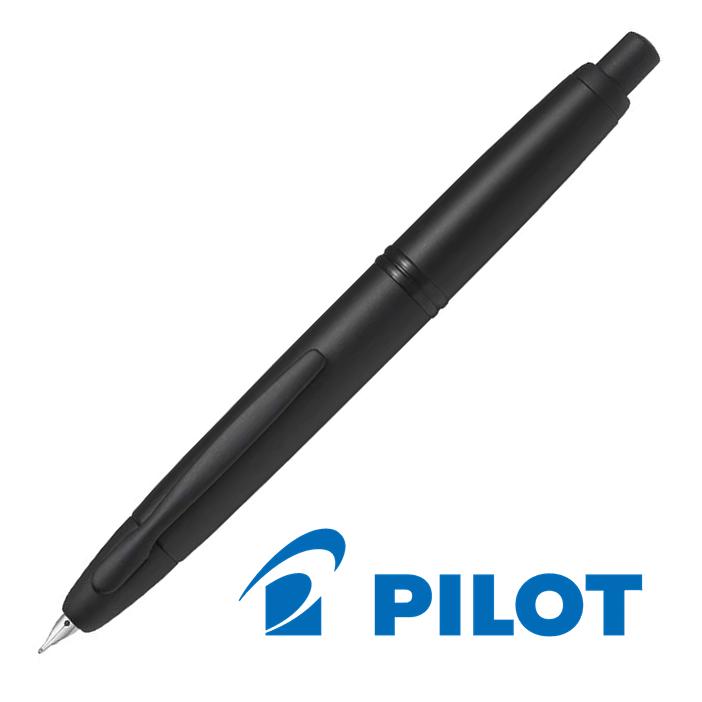 PILOT パイロット キャップレス マットブラック 万年筆 FC-18SR-BM