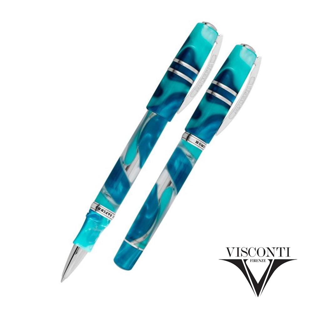 ビスコンティ Visconti ローラーペン ホモサピエンス ブルー ラグーン Homo Sapiens Blue Lagoon ブルー 青 KP15-14-RB