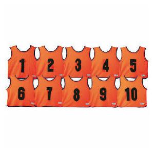 エコエムベストJr 蛍光オレンジ 1組(10枚) 送料無料【smtb-KD】 86137833532P17Sep16