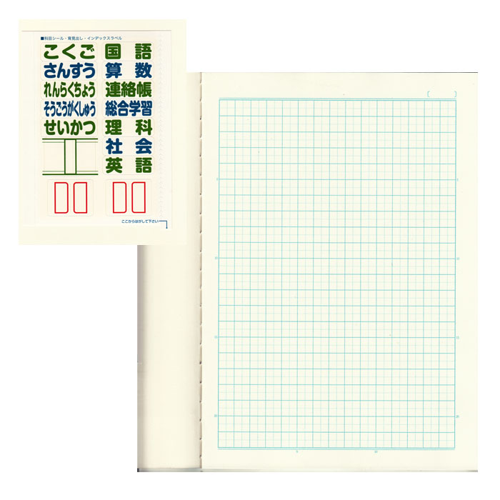 Winnie Mont squared notebook 5 Nakabayashi 10P09Jan16