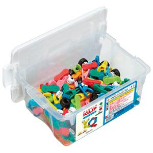 【コクヨ】アイクリップ コンテナセット M 知育玩具 86180862